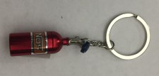 Red NOS Bottle Key Chain